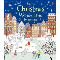 Christmas wonderland to colour - Usborne