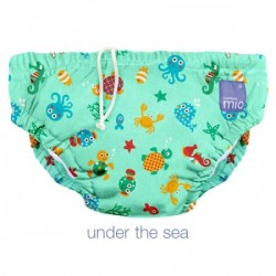 Scutec refolosibil de inot Bambino Mio Under the Sea