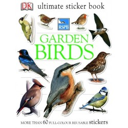 RHS Garden Bugs Ultimate Sticker Book - by DK