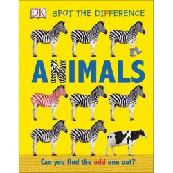 Spot the Difference Animals - by DK