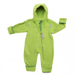 Overall din fleece - Green-dark green - Hoppediz