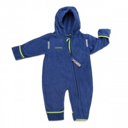Overall din fleece - Navy green - Hoppediz
