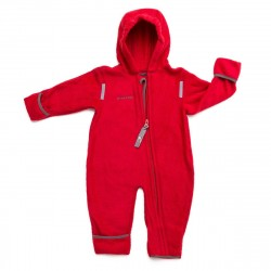 Overall din fleece - Red anthracite - Hoppediz