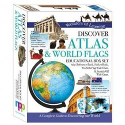 Atlas and Flags-Box Set-Wonders of Learning