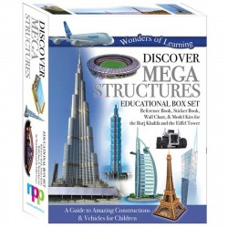 Discover Mega Structures - Box set - Wonders of Learning