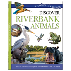 Discover Riverbank animals – Wonders of Learning