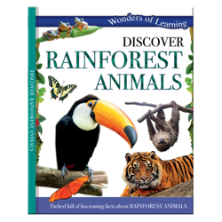 Discover Rainforest animals – Wonders of Learning