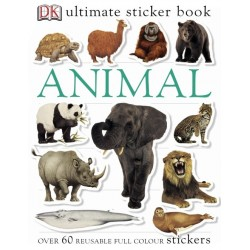 Animal Ultimate Sticker Book - by DK