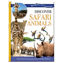 Discover Safari animals – Wonders of Learning