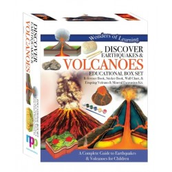 Discover Earthquakes and Volcanoes - Educational Box Set – Wonders of Learning
