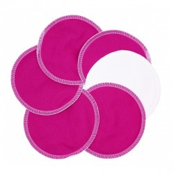 Absorbante alaptare StayDry - ImseVimse (set 6 buc) - Hot Pink