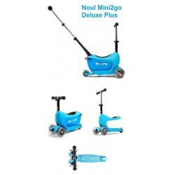 Trotineta Micro Mini2go Deluxe Plus Blue