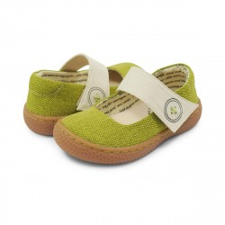 Pantofi Carta II Mary Jane Lime - Livie&Luca
