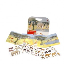 Animale din junglă - set magnetic - Egmont toys