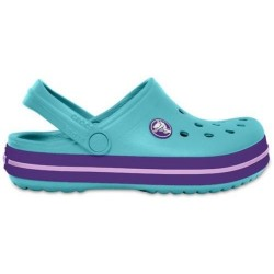 Slapi Crocs (Kids' Crocband™ Clog) - Ice Blue