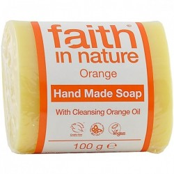 Sapun solid cu portocale - Faith in Nature - 100 g
