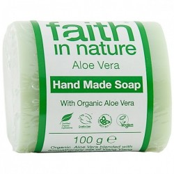 Sapun solid cu aloe vera - Faith in Nature - 100 g