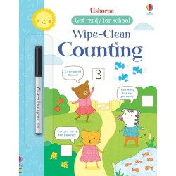 Get ready for school - Wipe-clean counting - Usborne