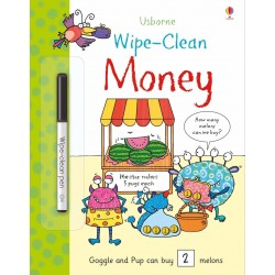 Wipe-clean money - Usborne