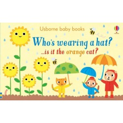 Who's wearing a hat? - Usborne