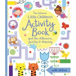 Little children's activity book: spot the difference, puzzles and drawing - Usborne