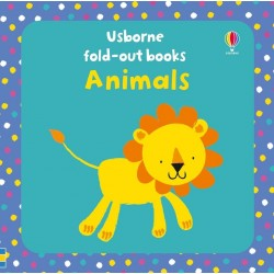 Fold-out books: Animals - Usborne