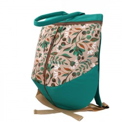 Rucsac turquoise flowers - Delikates Accessories
