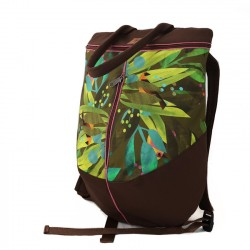 Rucsac leaves and birds - Delikates Accessories