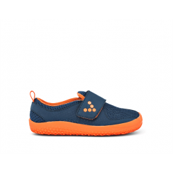 Papuci Vivobarefoot Mini Primus Kids Navy/ Orange