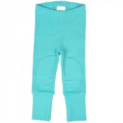 Colanti din bumbac organic ManyMonths Turquoise