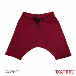 Baggy Pants 230g - Cranberry Shade - Merinito