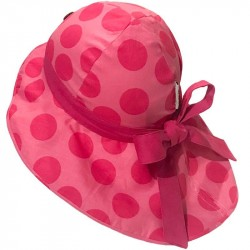 Palarie ManyMonths Unique Light cânepă si bumbac organic - Big Dots Pink