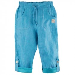 Pantaloni button Pure Pure in - Pool Blue