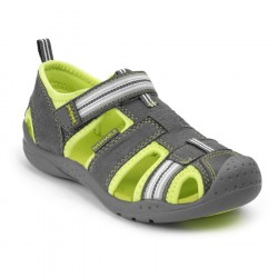 Sandale Pediped FLEX® Sahara – Grey/Lime