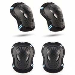 Micro Knee Elbow Pads Black XS