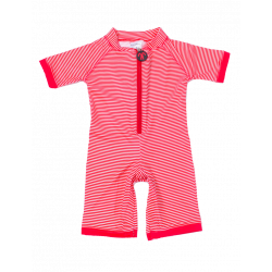 Costum intreg cu filtru UV – DucKsday - Red Stripe
