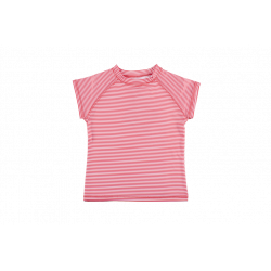 Tricou cu filtru UV - DucKsday - Red stripe