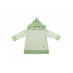 Poncho de vara - DucKsday - Green stripe