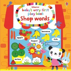 Baby's very first play book shop words - Usborne