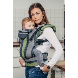 SSC Lenny Lamb Full Wrap Conversion (toddler size) - SMOKY - LIME - Second Generation