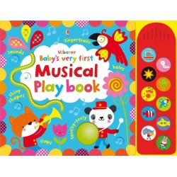 Baby's very first touchy-feely musical play book - Usborne