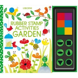 Rubber stamp activities garden - Usborne