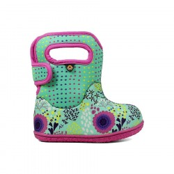 Baby Bogs Reef - Mint Green Multi
