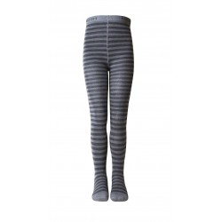Dres Melton lână si bumbac - Basic Stripes Dark Grey Melange