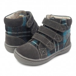 Ghete Jamie Gray Plaid - Livie&Luca