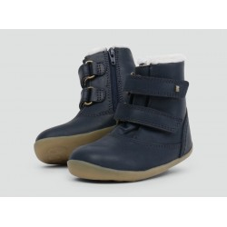 Ghete imblanite Aspen Navy (Step Up) - Bobux