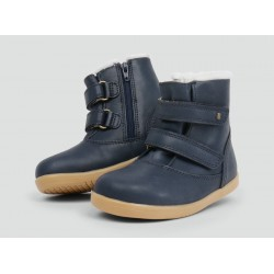 Ghete imblanite Aspen Navy (I Walk) - Bobux