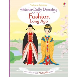 Sticker Dolly Dressing - Fashion long ago