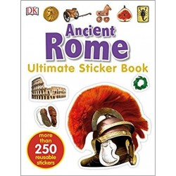 Ancient Rome Ultimate Sticker Book - by DK