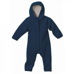 Overall Disana din lana organica boiled wool - Navy